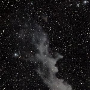魔女の横顔星雲