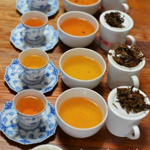 ジュンチャバリ茶園 飲み比べの記録