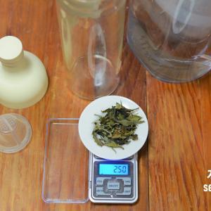 水出し茶の記録 水出し茶の作り方