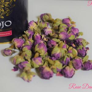 茶の記録 新疆の薔薇 ダマスクローズ (花茶)