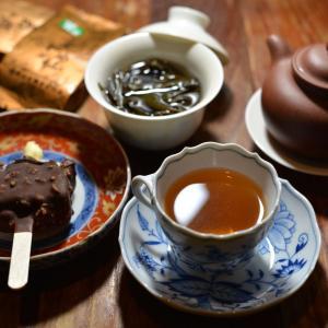喜びの週末・深夜の岩茶タイム