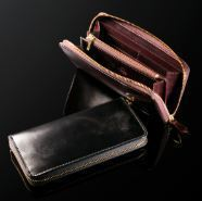 ラウンドファスナー長財布の特徴