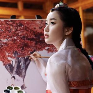 POPな若手韓国画家 キムヒョンジョン