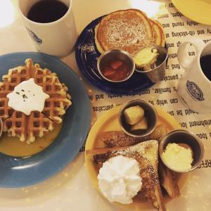 江南駅でおススメのお店、バターフィンガーパンケーキ!