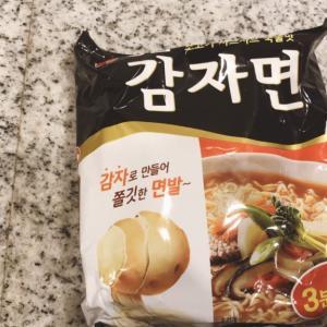 韓国ラーメン カムジャ麺