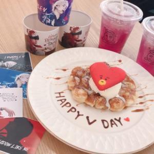 新大久保でhappy V day!