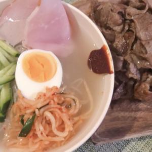 韓国広場で購入、冷麺を作ってみた!