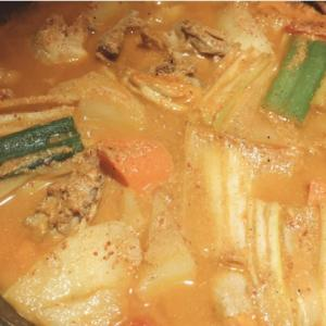 新大久保で珍しい鍋料理タットリタン!「チャムナム家」