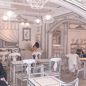 新大久保に絵本みたいなカフェ!?「2D Cafe」