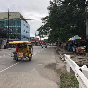 【2020 フィリピン】トライシクルを捕まえてLEE PLAZAへ買い物