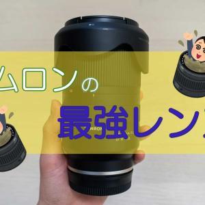 【感想】タムロンの最強レンズ「28-75mm F/2.8 Di III RXD」を使ってみた【作例あり】