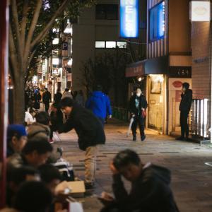 """【剛健/画像】老人さん、""""午前3時""""からドラッグストアに大行列!!!!!! えぇぇぇー…(ドン引き"""