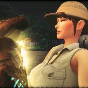 オジサマとお嬢様のジャングル冒険記 #8