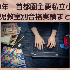 【小学校受験】首都圏私立小学校 幼児教室合格実績まとめ(2020年最新)