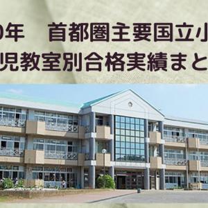 【小学校受験】首都圏国立小学校 幼児教室合格実績まとめ(2020年最新)