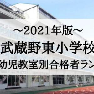 【2021年版】武蔵野東小学校の幼児教室別合格者数・受験倍率まとめ