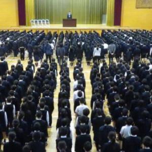 愛媛県内の小中学校で始業式