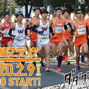2020年愛媛マラソン当日の交通規制、駐車場、コース、定員について