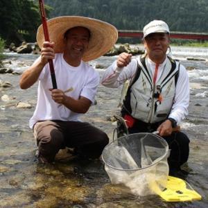 利き鮎会4回優勝の和良鮎も食べれます!和良川鮎釣り教室開催(^_-)-☆