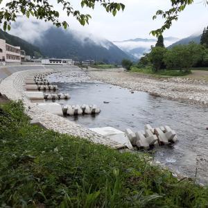 本日(2021.6.16)の郡上と和良川の様子