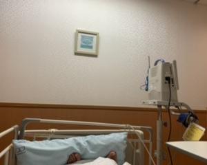 入院・・・
