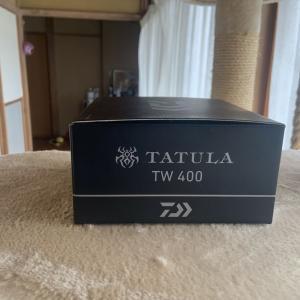 タトゥーラ400買いました