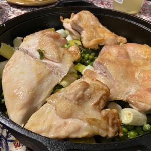 ナイジェラ・ローソンの鶏肉とグリーンピースのオーブン焼き