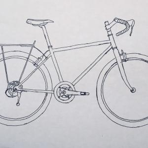 私の自転車の描き方