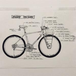 新しい自転車はなかなか決めれない。