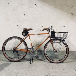 新しい自転車 joe appaloosaが来ました。