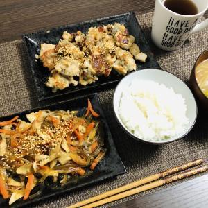 蓮根と鶏肉のゴロゴロ焼き