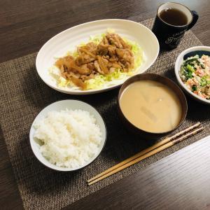 豚肉の生姜焼き定食