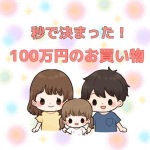 秒決まった100万円のお買い物(о´∀`о)大満足♡