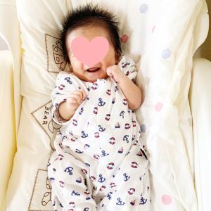 【0m14d】わ、笑ってる!?新生児微笑( ⑉¯ ꇴ ¯⑉ )