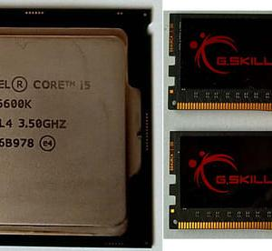 インテルのCPUに相性問題があると解りびっくり。 (Kmode Exception Not Handled のブルースクリーンはメモリの相性問題の可能性がある。続編)