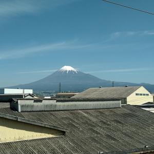 出張で名古屋に向かっています。