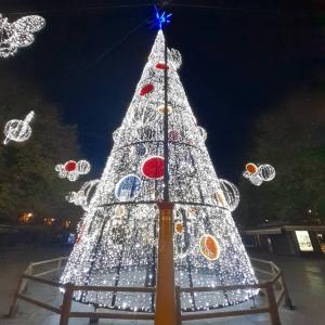 クリスマスイルミネーション【グラナダ夜の散歩】