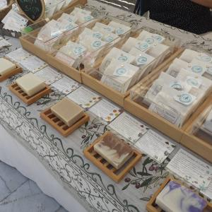 作り手から買える幸せ♪スペイン産オリーブオイルの石鹸【青空マーケット・グラナダ市内】