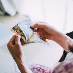 1週間1万円生活、1週目。