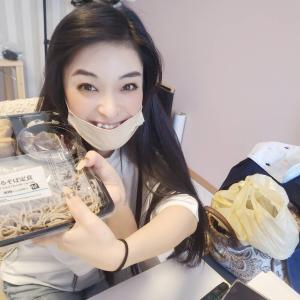 蕎麦ダイエットに興味津々の前田さん。美容効果もありだって。