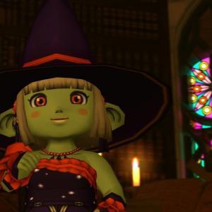【ドワ子のドレア】ハロウィン魔女コーデ