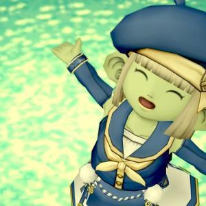 【ドワ子のドレア】海軍セーラーコーデ