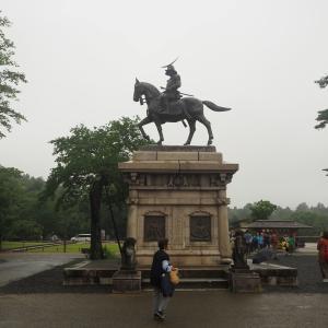 【旅行記】2019夏 仙台グルメの旅③ 仙台城の伊達政宗像