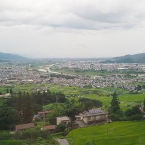 【旅行記】2020夏 信州城巡りの旅⑥ 特急しなのから日本三大車窓の姨捨を