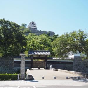 【旅行記】夏の瀬戸内海を望む丸亀城 四国制覇旅⑦