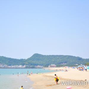 片男波海水浴場 大阪からアクセスが近い和歌山市の人気海水浴場
