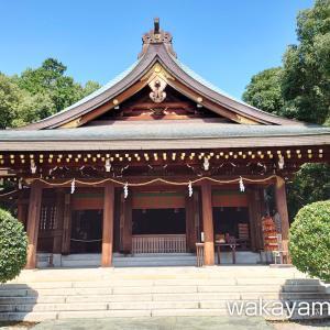 竈山神社 名付け(命名) 初詣 お宮参りで有名な神社 – 和歌山市