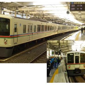 早くも東京戻り?西武新宿で4000系!?