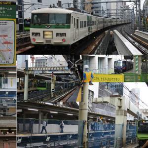 JR渋谷駅ホーム移設工事 [STEP2] ~ホーム並ぶ