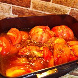 【レシピ】家庭菜園のトマトを使った1品